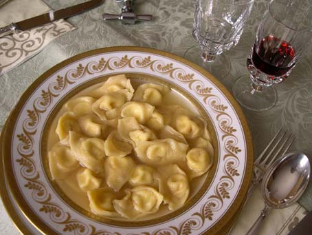 Romagna recipes: gratin vegetables