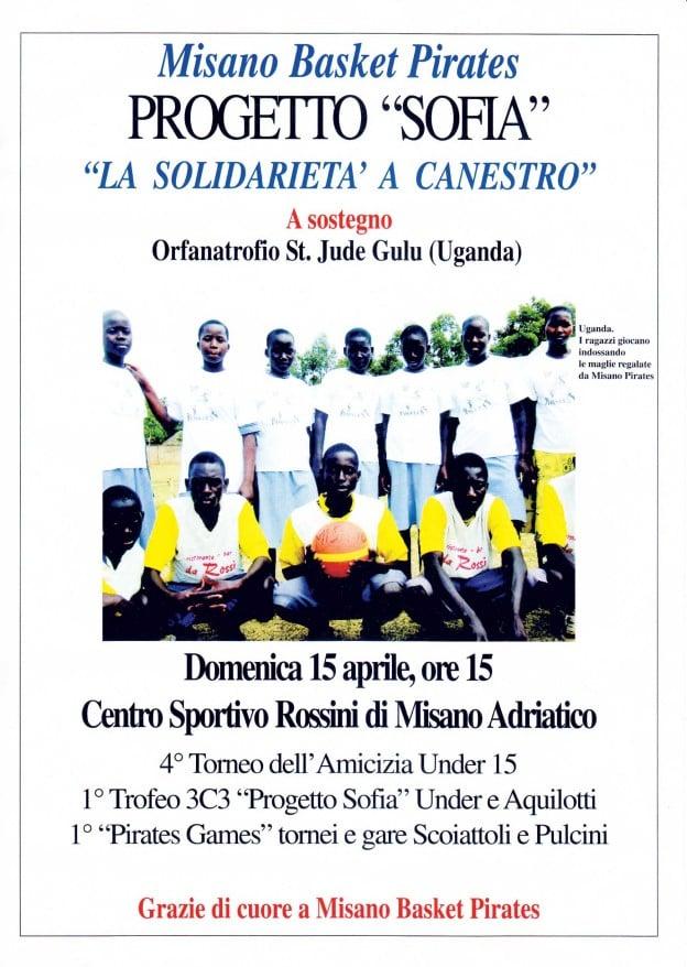 Misano Adriatico: una partita di basket per l'Uganda