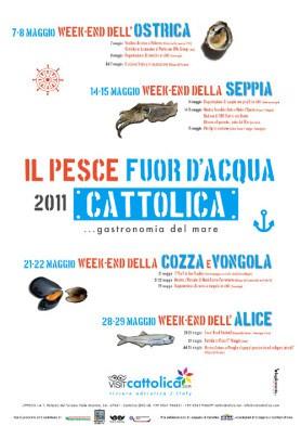 Il pesce fuor d'acqua – gastronomia del mare a Cattolica
