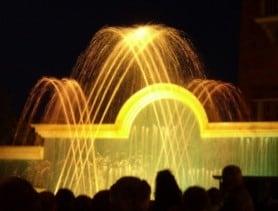 Le fontane danzanti di Cattolica