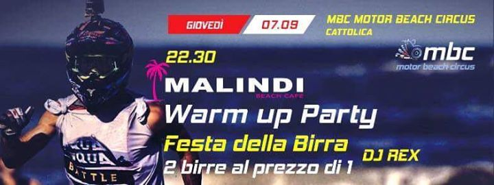 Warm Up Party – Festa della Birra